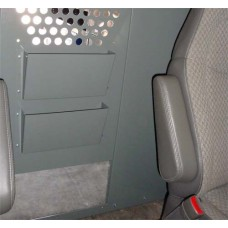 Two Slot File/Binder/Paper Holder for Van Partition