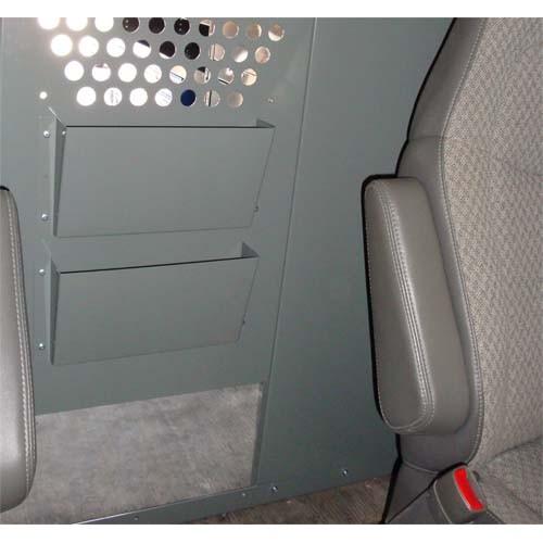 Two Slot File/Binder/Paper Holder for Van Partition