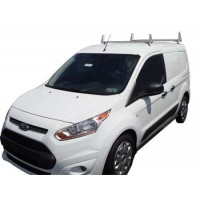 Aluminum 2 Bar Ladder Rack - Ford Transit Connect 2014 - Later Models