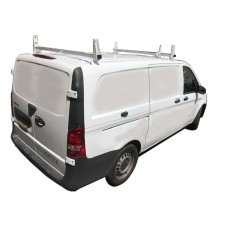 Aluminum 2 Bar Ladder Rack  Mercedes Metris