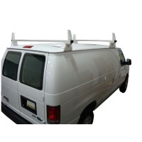 2 Bar Aluminum Ladder/Utility Rack - GMC Savana, Chevy Express