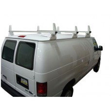 3 Bar Aluminum Ladder/Utility Rack GMC Savana, Chevy Express