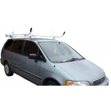 Honda Odyssey Aluminum Ladder Rack - Single lock Down