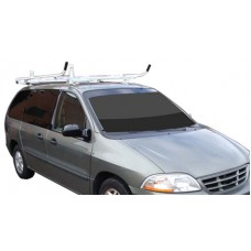 Toyota Sienna Aluminum Ladder Rack - Single Lock Down