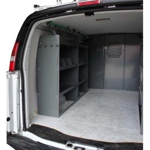 2014 Chevrolet Express 3500 Cargo Interior: GMC Savana Full Size Van Safety Partition, Bulkhead