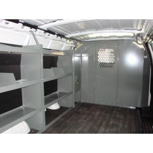 2011 Chevrolet Express 3500 Cargo Interior: GMC Savana Full Size Van Safety Partition, Bulkhead
