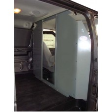 Ford Transit Full Size Van - Low Roof - Safety Partition, Bulkhead - open center