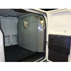 Nissan NV Cargo Low Roof Full Size Van Safety Partition