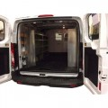 Set of 3 Aluminum Shelving  Package - Low Roof Ford Transit