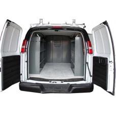 Shelving Package PRO - Full Size Van - 2+1 unit with Door Kit