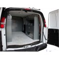 "Van Shelving Storage with Door Kit - 45""L x 44""H x 13""D"