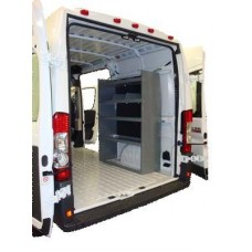 "Nissan NV Cargo Van Shelving Unit - High Roof - 59""Hx45""Lx16""D"