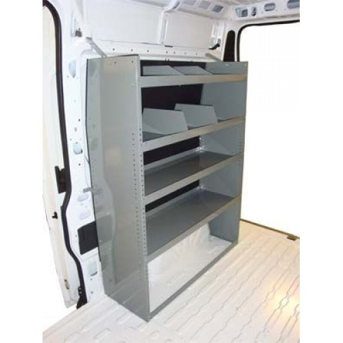 2010 Ford Transit Connect Cargo Van For Sale In Houston: Dodge ProMaster Van Shelving Unit
