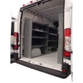 Set of 3 Shelving Units Ford Transit Full Size Medium and High Roof