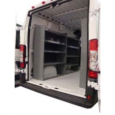 Set of 2 Dodge ProMaster Van Shelving Units