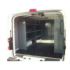 Set of 3 Shelving Units for Low Roof Ford Transit - Contractor Package