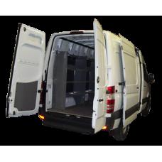 Set of 3 Sprinter Van Shelving Base Package