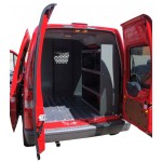 Ford Transit Connect Shelving