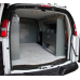 """Van Shelving with Door Kit - 45""""L x 44""""H x 13""""D - Low Roof Ford Transit"""