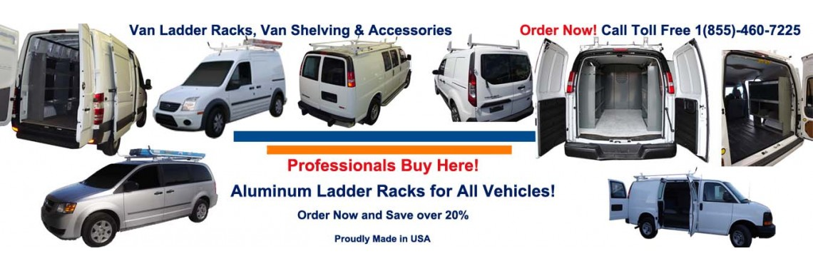 Van Shelving Storage, Van Ladder Racks, Van Safety Partitions